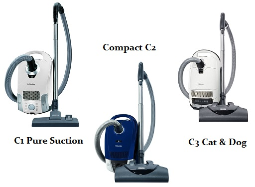 Miele C1 Vs C2 Vs C3 Detailed Lineup Comparison