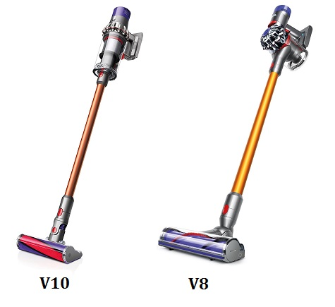 Dyson V10 Vs V8 – We Compare Their Top Cordless Vacuums