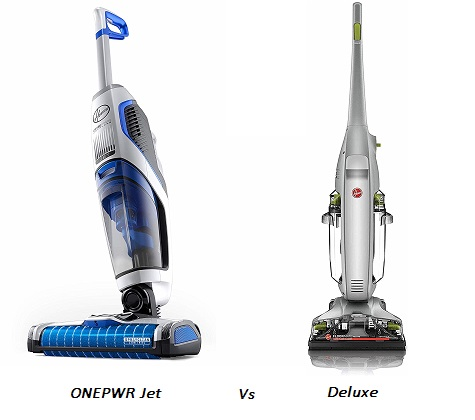 Hoover FloorMate Jet Vs Deluxe