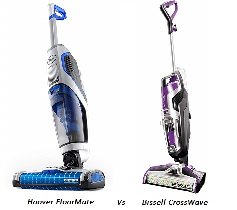 Hoover FloorMate Vs Bissell CrossWave