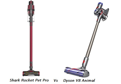 Shark Rocket Vs Dyson V8
